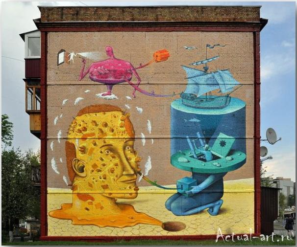 Владимир Манжос и Алексей Бордусов_Interesni Kazki_Street-art_01