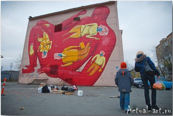 Владимир Манжос и Алексей Бордусов_Interesni Kazki_Street-art_04