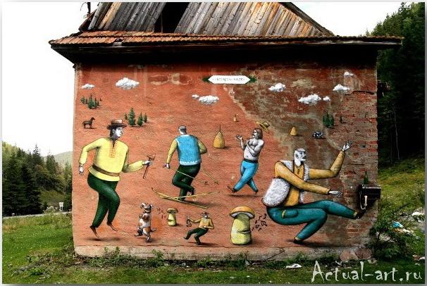 Владимир Манжос и Алексей Бордусов_Interesni Kazki_Street-art_05