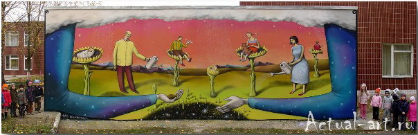 Владимир Манжос и Алексей Бордусов_Interesni Kazki_Street-art_23