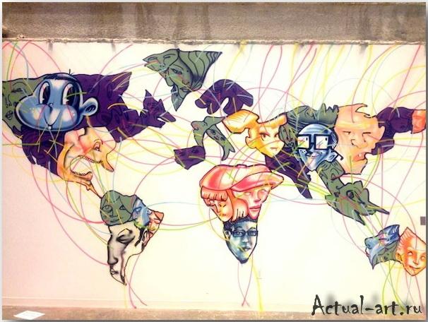 Дэвид Чо (David Choe)_facebook_artwork_03
