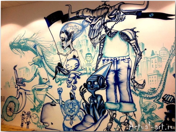 Дэвид Чо (David Choe)_facebook_artwork_05