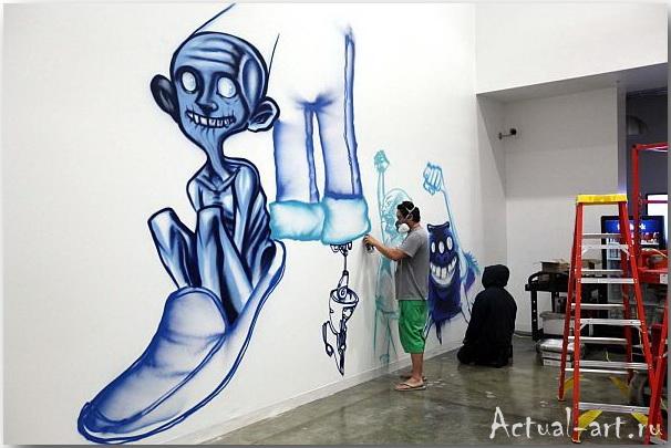 Дэвид Чо (David Choe)_facebook_artwork_07