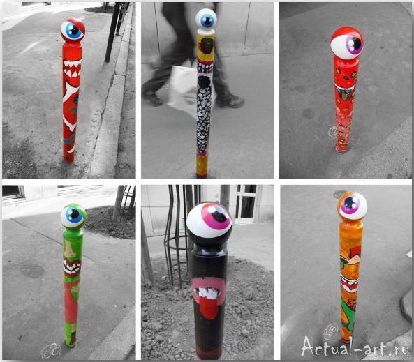 Уличный художник CyKlope_Street-art_08