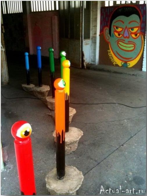 Уличный художник CyKlope_Street-art_17