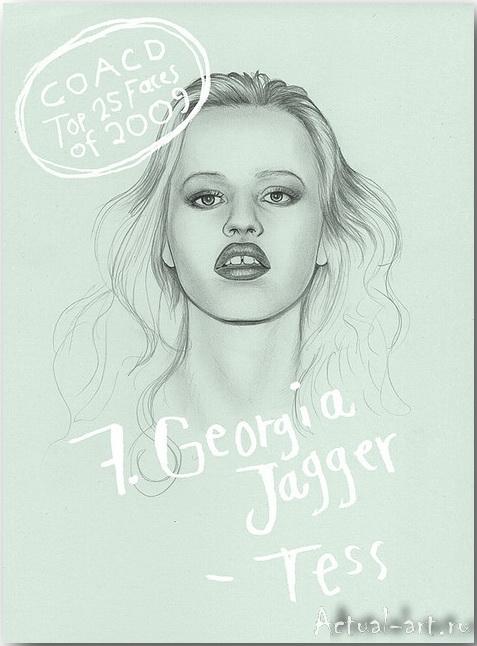 Georgia Jagger__Дженни Мертселл (Jenny M?rtsell)_art_Живопись_07