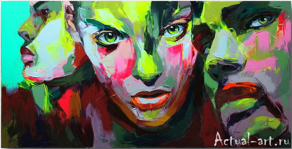 Франсуаза Нилли (Francoise Nielly)_art_Живопись_01