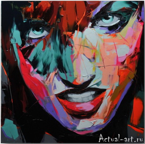Франсуаза Нилли (Francoise Nielly)_art_Живопись_02