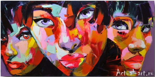Франсуаза Нилли (Francoise Nielly)_art_Живопись_03