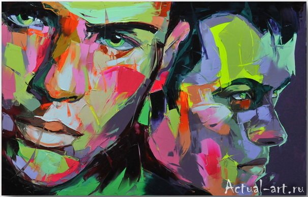 Франсуаза Нилли (Francoise Nielly)_art_Живопись_04