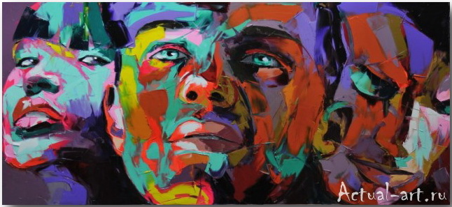 Франсуаза Нилли (Francoise Nielly)_art_Живопись_05