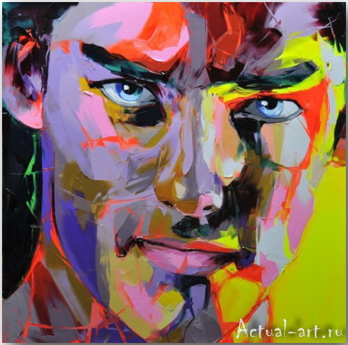 Франсуаза Нилли (Francoise Nielly)_art_Живопись_08