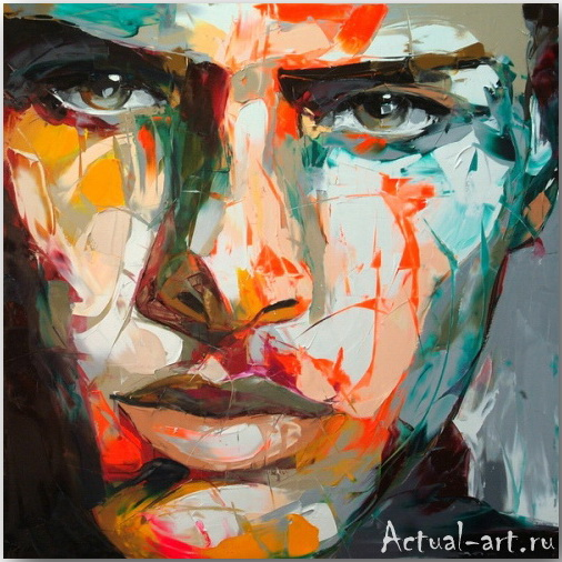 Франсуаза Нилли (Francoise Nielly)_art_Живопись_09