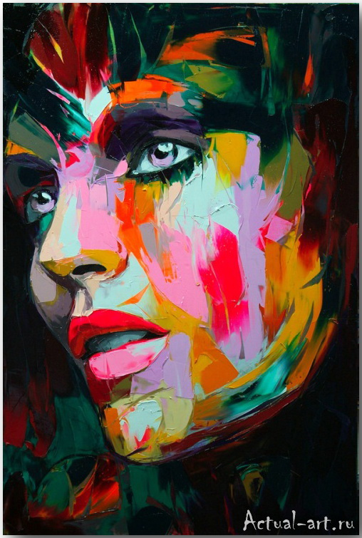 Франсуаза Нилли (Francoise Nielly)_art_Живопись_10