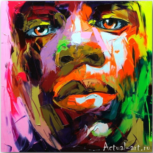 Франсуаза Нилли (Francoise Nielly)_art_Живопись_11