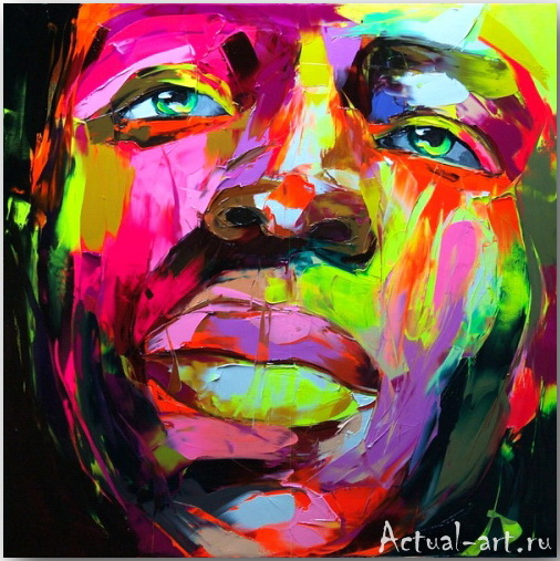 Франсуаза Нилли (Francoise Nielly)_art_Живопись_14