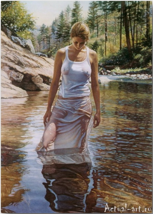 Стив Хэнкс (Steve Hanks)_art_Живопись_15