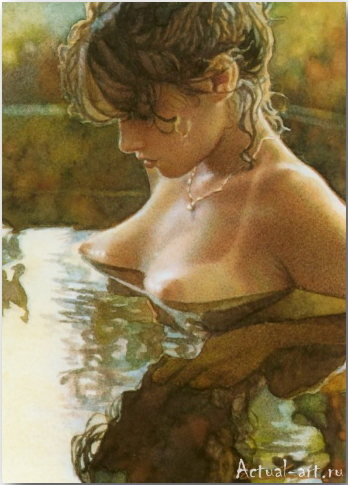 Стив Хэнкс (Steve Hanks)_art_Живопись_19