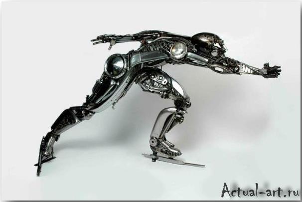Джеймс Корбетт (James Corbett)_Sculpture_01