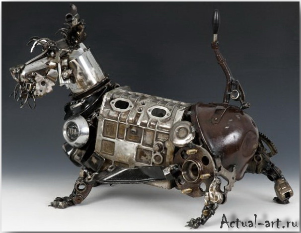 Джеймс Корбетт (James Corbett)_Sculpture_02