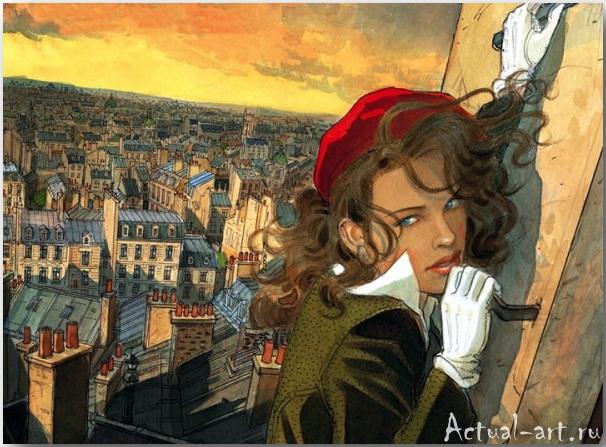 Жан-Пьер Жибра (Jean-Pierre Gibrat)_иллюстрации_art_05