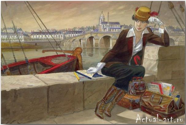 Жан-Пьер Жибра (Jean-Pierre Gibrat)_иллюстрации_art_09
