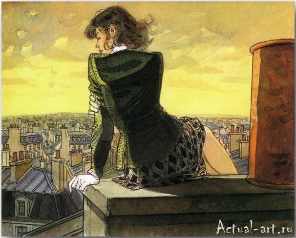 Жан-Пьер Жибра (Jean-Pierre Gibrat)_иллюстрации_art_10