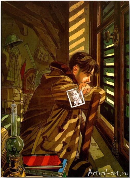 Жан-Пьер Жибра (Jean-Pierre Gibrat)_иллюстрации_art_15