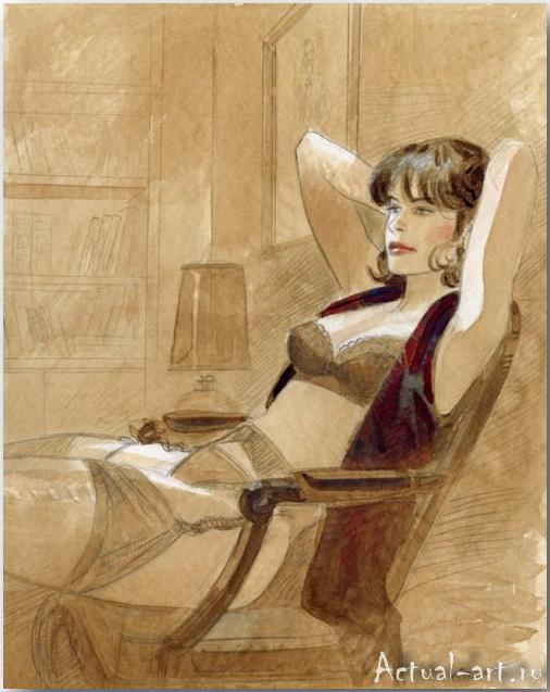 Жан-Пьер Жибра (Jean-Pierre Gibrat)_иллюстрации_art_22