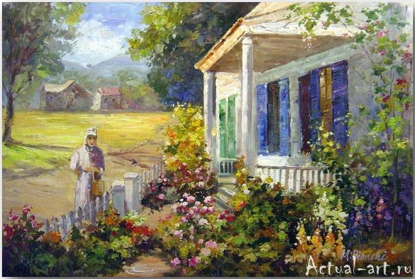 Abbott Fuller Graves: американские цветы в духе европейского импрессионизма