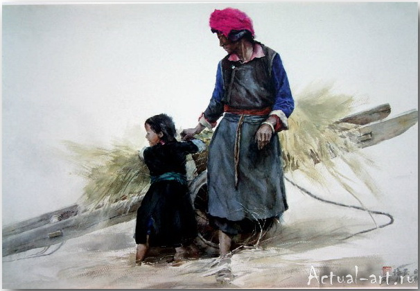 Cao Bei-an_art_Живопись_08