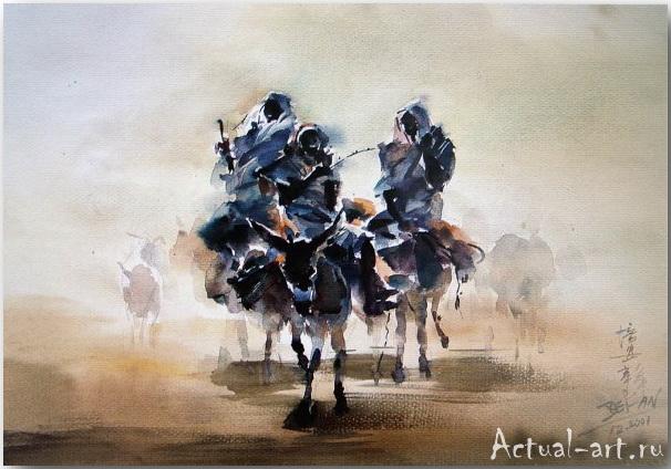 Cao Bei-an_art_Живопись_09
