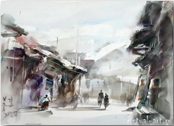 Cao Bei-an_art_Живопись_15
