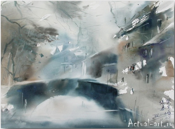 Cao Bei-an_art_Живопись_16