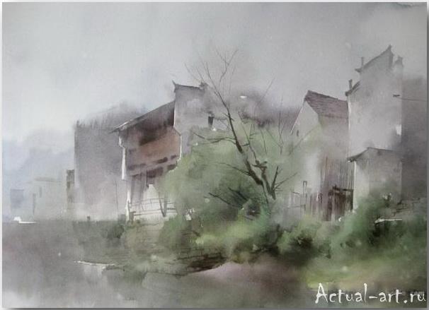 Liu Yi_art_Живопись_16