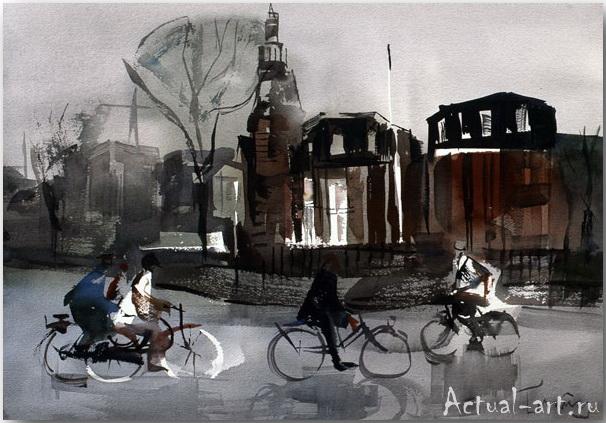 Josep Crunas – мастер городского пейзажа