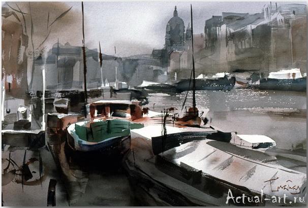 Josep Crunas_art_Живопись_04