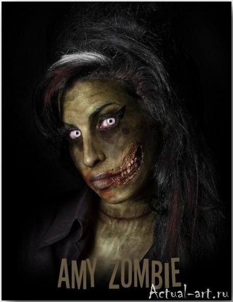 Даниэль Нардес (Daniel A. Nardes)_Famous Zombies_art_02