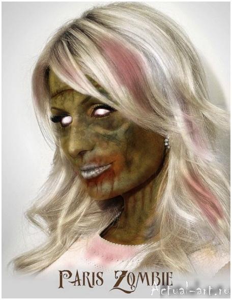 Даниэль Нардес (Daniel A. Nardes)_Famous Zombies_art_04
