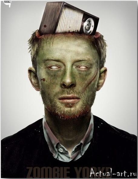 Даниэль Нардес (Daniel A. Nardes)_Famous Zombies_art_06
