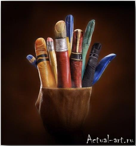 Энни Рэлли (Annie Ralli)_Hand art_05