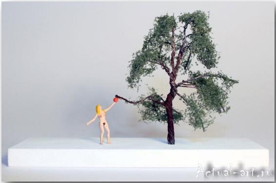 Ник Джоли (Nic Joly)_Sculpture_10
