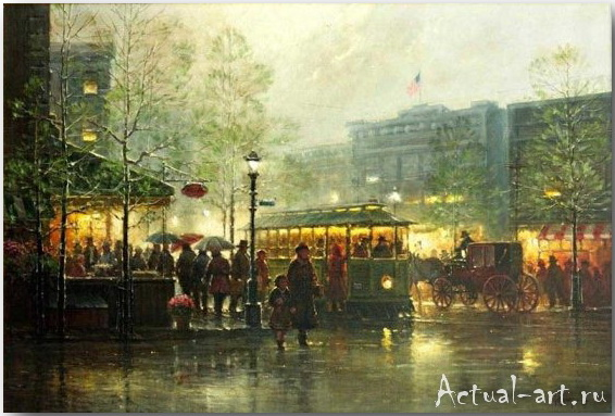 Харви Джонс (Gerald Harvey Jones)_art_Живопись_01