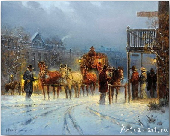 Харви Джонс (Gerald Harvey Jones)_art_Живопись_02