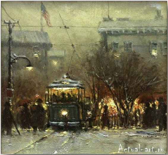 Харви Джонс (Gerald Harvey Jones)_art_Живопись_03