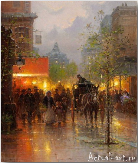 Харви Джонс (Gerald Harvey Jones)_art_Живопись_05
