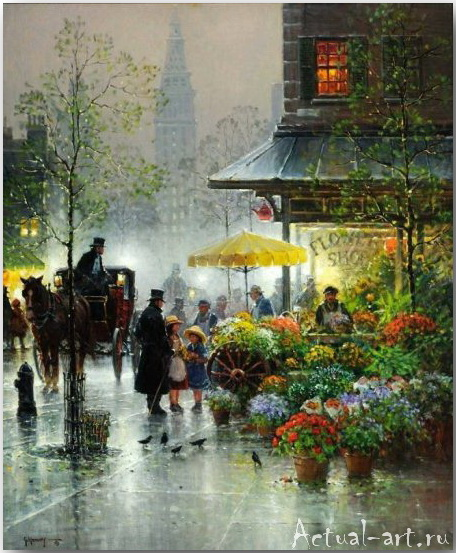 Харви Джонс (Gerald Harvey Jones)_art_Живопись_06