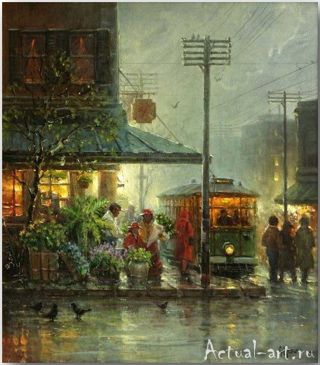 Харви Джонс (Gerald Harvey Jones)_art_Живопись_07