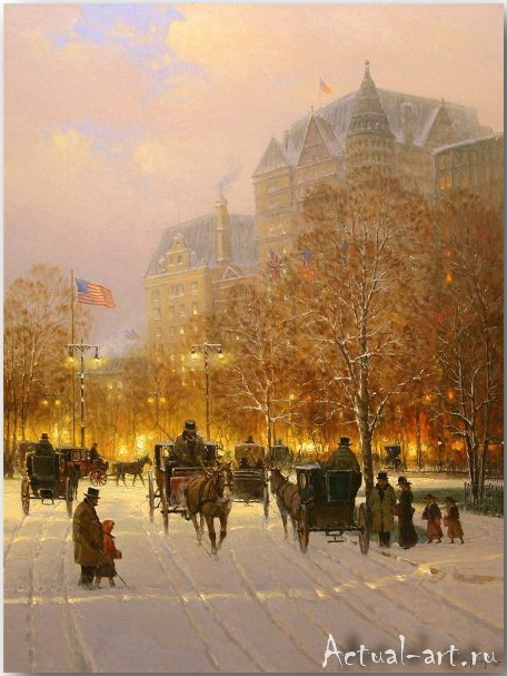 Харви Джонс (Gerald Harvey Jones)_art_Живопись_09