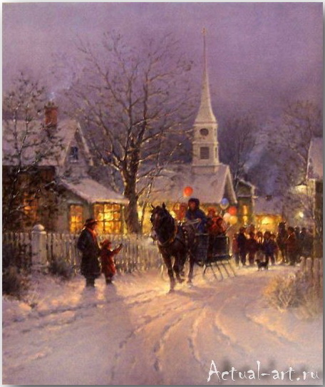 Харви Джонс (Gerald Harvey Jones)_art_Живопись_10